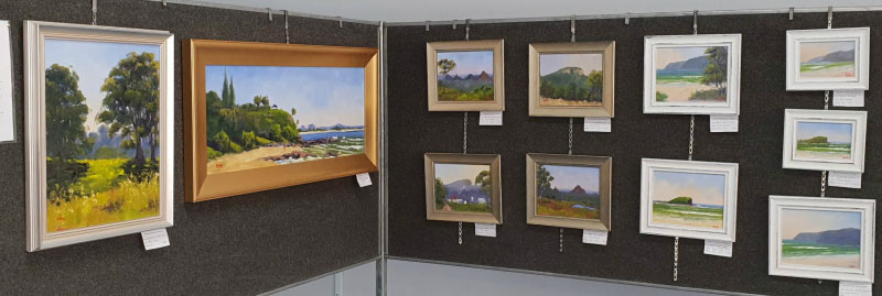 Sunshine Coast Plein Air Paint Out Exhibit