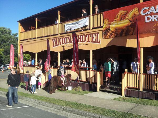 Yandina Hotel, Stevens Street, Yandia