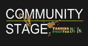 Yandina Street Fair community stage 2017 program