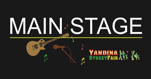 Yandina Street Fair main stage 2019 program