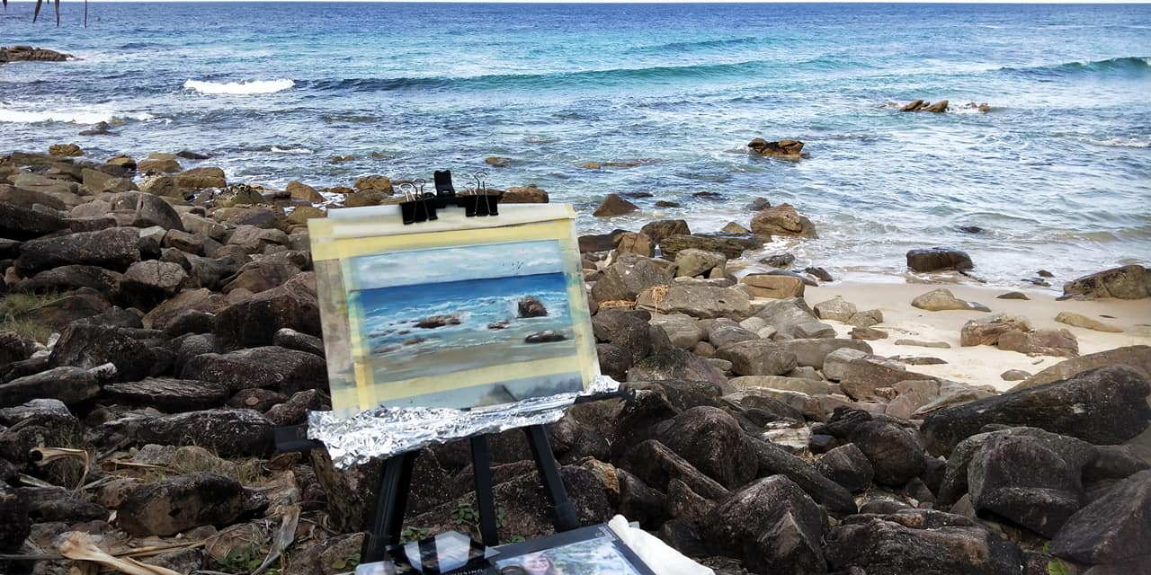 Sunshine Coast Plein Air Paint Out