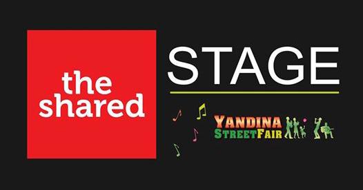 Yandina Street Fair The Shared stage 2017 program